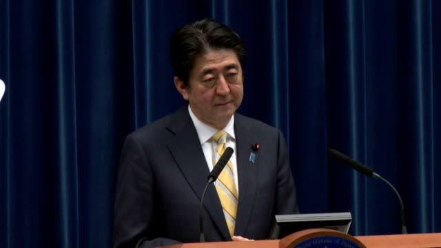 the cabinet of prime minister shinzo abe on thursday approved security bills that would significantly expand the scope of overseas operations by the... - north pacific stock videos & royalty-free footage