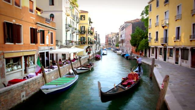 Die Kanäle von Venedig, Italien
