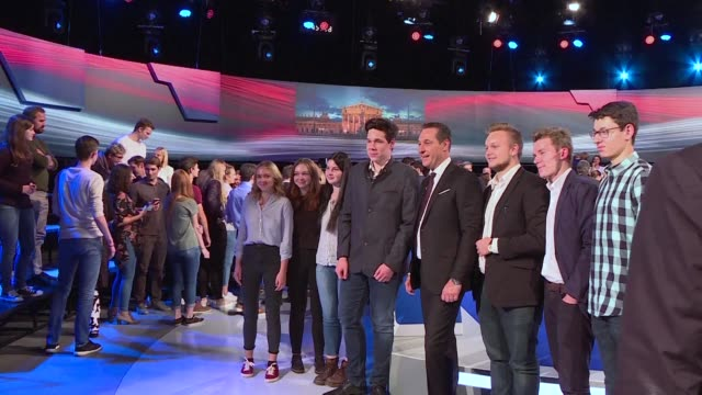 The candidates in the Austrian legislative elections are debating one last time on television before Sunday's vote
