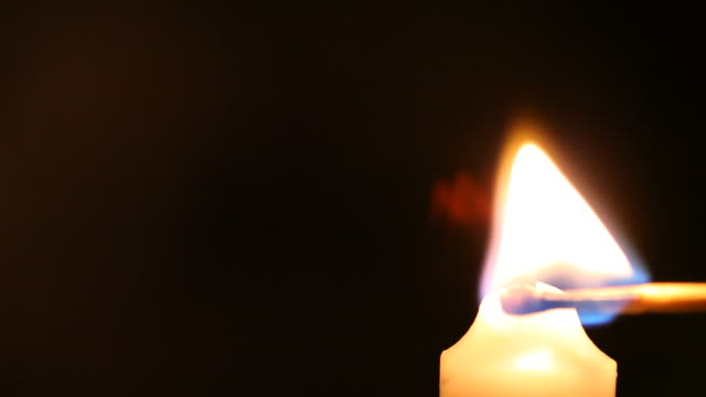 the candle burns  - candle stock videos & royalty-free footage