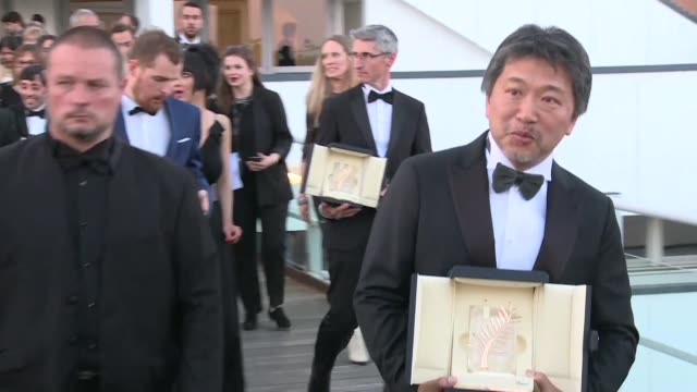 the cannes film festival draws to a close with shoplifters a heartwrenching tale by japanese veteran director hirokazu koreeda about a family of... - shoplifter stock videos & royalty-free footage