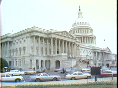 the capitol building and supreme court of the united states in the 1980s. - united states and (politics or government) stock videos & royalty-free footage