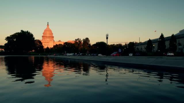 The Capitol Building, Washington D.C, USA at sunset