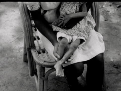 the care of malnourished babies in the children's department of a hospital - east java province stock videos & royalty-free footage