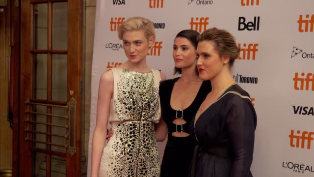 The cast arrives on the red carpet of 'Vita Virginia' during the Toronto International Film Festival on September 11 2018 in Toronto Canada