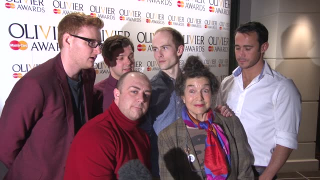 INTERVIEW The cast of 'Charlie and the Chocolate Factory' on being nominated what it means to them at The Laurence Olivier Awards nominees announced...