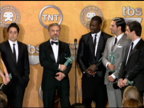 the cast of 'inglourious basterds' on working together. at the 16th annual screen actors guild awards - press room at los angeles ca. - screen actors guild bildbanksvideor och videomaterial från bakom kulisserna