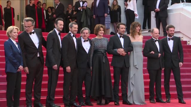 FRA: Cast of La Belle Epoque gather on red carpet before screening