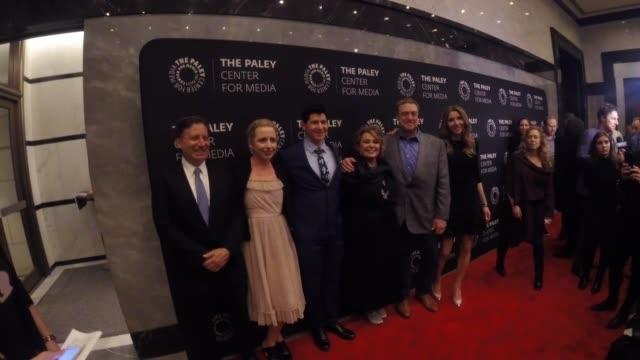 The cast of 'Roseanne' at The Paley Center For Media Presents An Evening With Roseanne at The Paley Center for Media on March 26 2018 in New York City