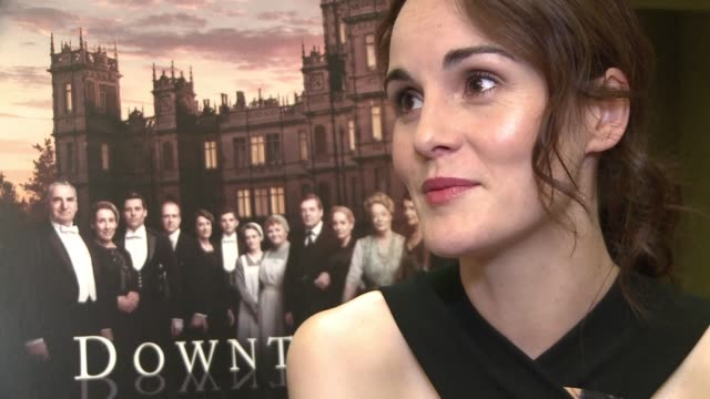 The cast of the smash hit TV show Downton Abbey talk to AFP about making the last series of the period drama which has proved a global sensation