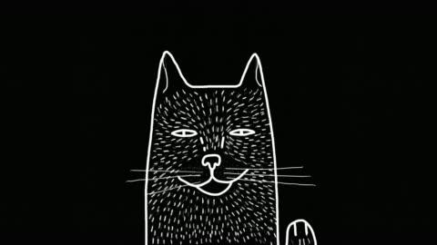 katten - serier bildbanksvideor och videomaterial från bakom kulisserna
