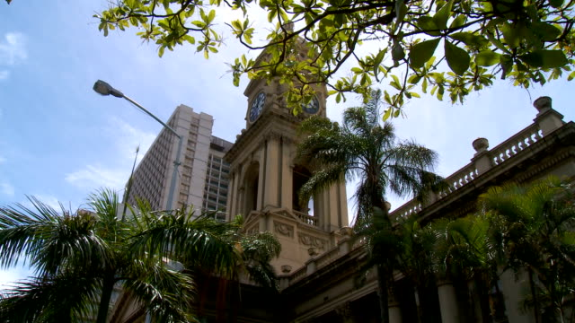 la ls of the central post office, durban, south africa - durban stock videos and b-roll footage
