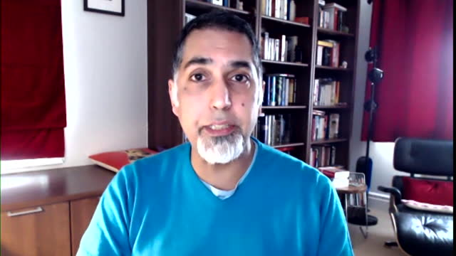 the chair of kick it out, sanjay bhandari saying football's four-day boycott of social media is to make social media companies take action on racism... - chair stock videos & royalty-free footage