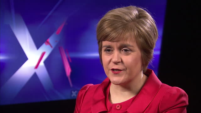 the chancellor has told scotland that it won't be able to keep the pound if scottish people vote for independence. george osborne said it would be... - tattoo stock videos & royalty-free footage