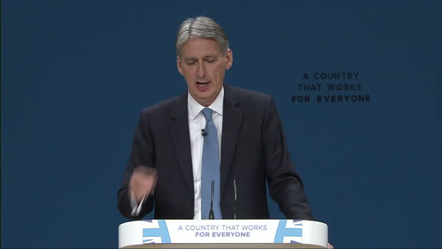 The Chancellor of the Exchequer warned of turbulence and uncertainty ahead for the economy today Philip Hammond was speaking as a key Bank of England...