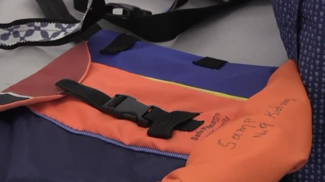 The charity Safe Passage Lesbos Solidarity is giving a new lease of life to the thousands of lifejackets discarded by migrants on the Greek island of...
