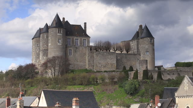 The Chateau de Luynes, Loire Valley, Indre-et-Loire, Centre, France, Europe