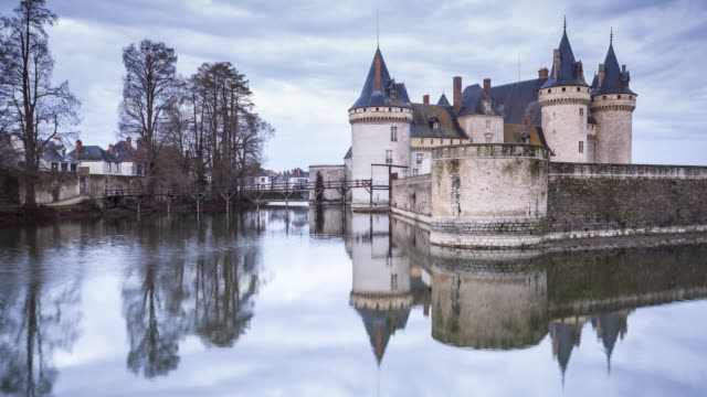 The Chateau de Sully-sur-Loire in France.