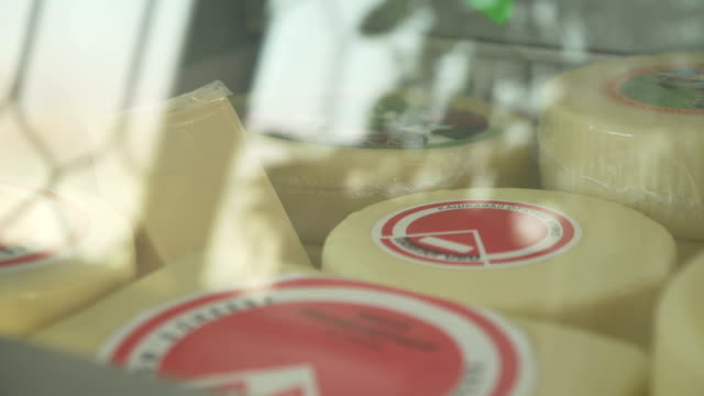 the cheese shop - artisanal food and drink stock videos & royalty-free footage