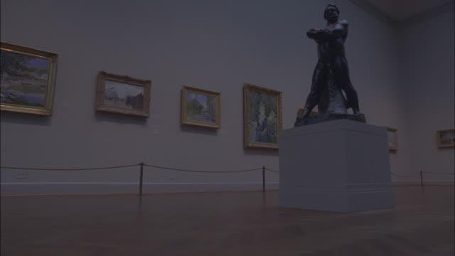 The Chicago Museum of Contemporary Art displays artwork.