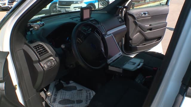 wgn the chicago police department rolled out a new fleet of police carsforty of the police cars will be deployed on july 6 with a total of 550 of... - fleet of vehicles stock videos and b-roll footage