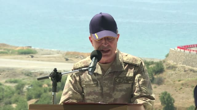 the chief of the turkish general staff said thursday that clearing the turkish army of fetullah terrorist organization members had made it stronger... - georgia us state stock videos and b-roll footage