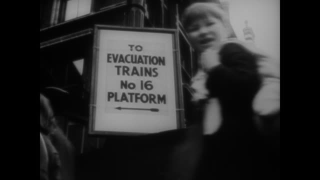 WWII The children of London are evacuated firefighters run drills people build air raid shelters and wardens insist on blackout at night as London...