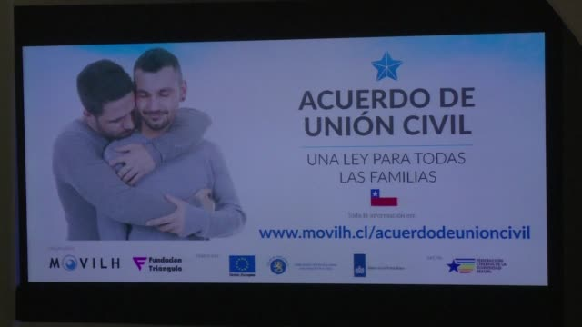 The Chilean government launched a campaign Tuesday to promote a new civil union law that will go into effect Thursday and apply to both heterosexual...