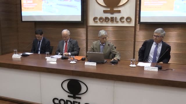 The Chilean state owned copper mining company CODELCO reports 1235 million dollars in surpluses in the first semester of 2018 23 per cent more than...