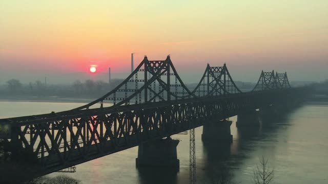 The China North Korea Friendship Bridge at the Chinese border city of Dandong remains quiet ahead of the second Trump Kim summit as media report that...