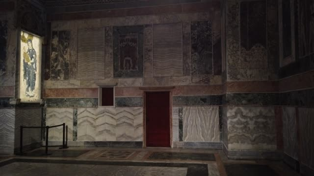 vidéos et rushes de the chora church museum, the 11th century church of st. savior is seen on august 21, 2020 in istanbul, turkey. istanbul's famous chora church museum... - museum