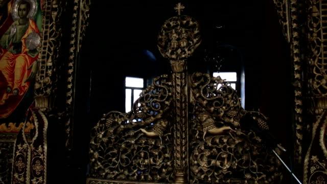 stockvideo's en b-roll-footage met het kerk binnenland - altaar