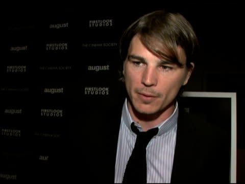 'the cinema society and first look studios host a screening of 'august' new york ny 7/09/08 - event capsule stock videos & royalty-free footage