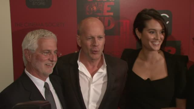 the cinema society & oc concept host a screening of 'red', new york, ny, united states, . - モービー点の映像素材/bロール