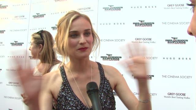 The Cinema Society Screening Of 'Inglourious Basterds' New York NY United States 08/17/09