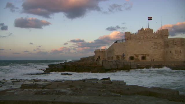 The Citadel of Qaitbay stands overlooks Alexandria's harbour.