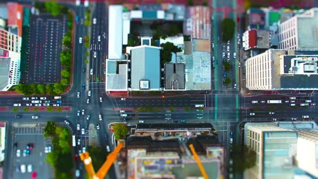 都市は1つの大きな都市のハブ - 南アフリカ共和国点の映像素材/bロール