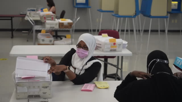 the city is preparing for a surge of mailin ballots as people avoid traditional polling places because of social distancing - voting ballot stock videos & royalty-free footage