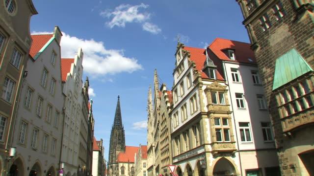 Muenster die Stadt in Deutschland