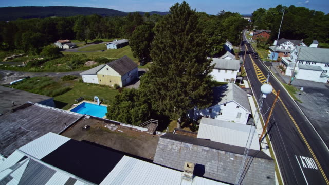 The city of Effort, Poconos, Pennsilvania