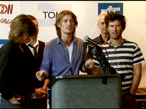 hanson the city of west hollywood and toms shoes join together to fight poverty and hiv/aids in africa hollywood ca 10/30/07 in hollywood california... - retrovirus stock videos and b-roll footage