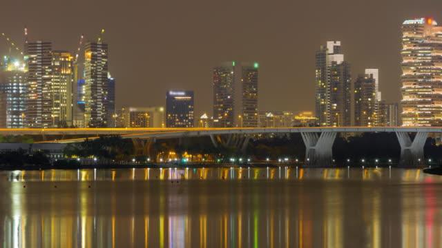stockvideo's en b-roll-footage met 4k time lapse (4096 x 2160): het stadsbeeld nachttijd (apple prores. 422(hq)). - 1991