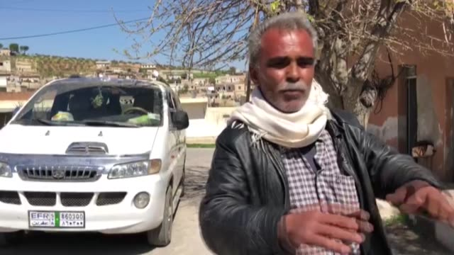 stockvideo's en b-roll-footage met the civilians in northwestern syria on march 17, 2018 exposed the smear campaign launched by the pyd/pkk terrorist group. recently, the terrorist... - number 9