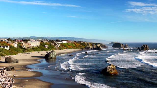 バンドンの海岸で、米国(オレゴン州)