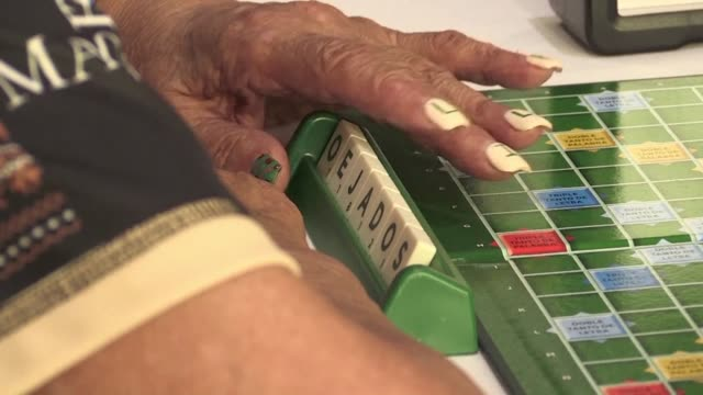 the colombian city of cali held the event in 2015 but this year the northern french town of lille is hosting the spanish world scrabble championships... - championships stock videos & royalty-free footage