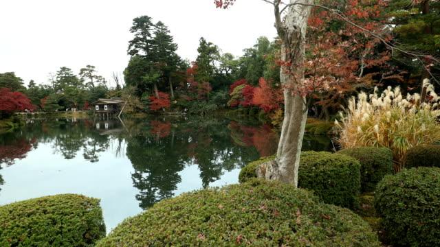 日本のカラフルな自然 - formal garden点の映像素材/bロール