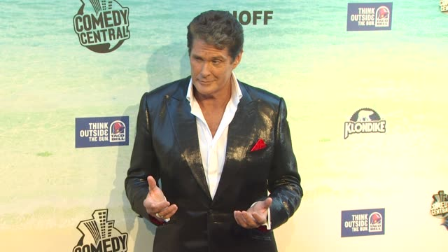 the comedy central roast of david hasselhoff, los angeles, ca, united states, 8/1/10 - traci bingham stock videos & royalty-free footage