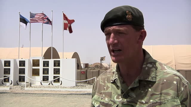 the commander of british troops in helmand province has told sky news that the decision to withdraw combat soldiers by the end of 2014 was the... - 2001年~ アフガニスタン紛争点の映像素材/bロール