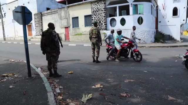 The Comoros military regains control of Mutsamudu's old city centre on the island of Anjouan after armed rebels staged an uprising earlier this week