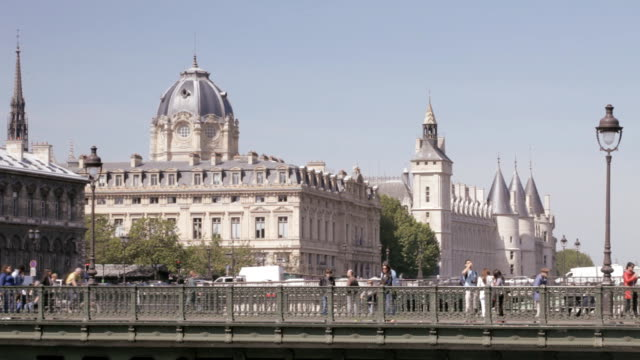 the conciergerie in paris. - guillotine stock videos & royalty-free footage